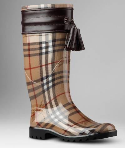 bottes de pluie burberry ce sont celles que je pr f re dr les de shoes. Black Bedroom Furniture Sets. Home Design Ideas
